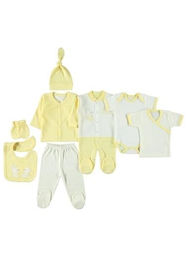 Civil Baby Civil Baby Bebek 8'li Zibin Takimi Yenidoğan Sari Sarı